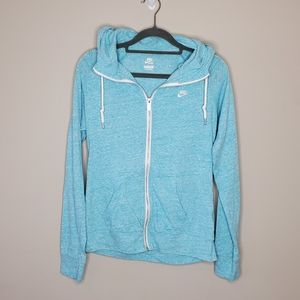 Nike Sportswear Time Out Hoodie Zip Front Large